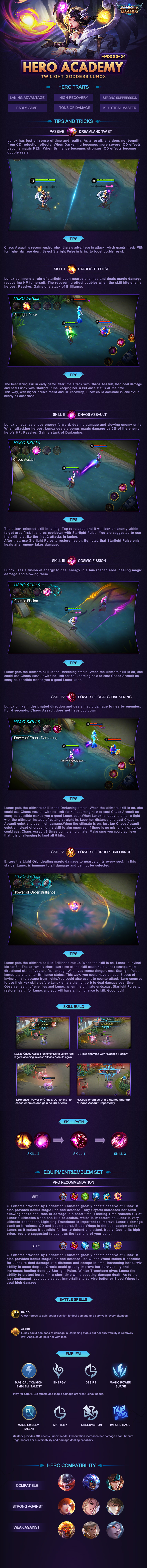 Hero Academy - Lunox 丨Episode #34 - Mobile Legends - Mid Or